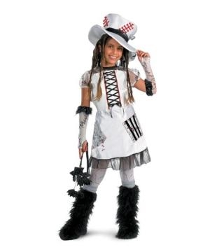 White Monster Bride Kids Costume