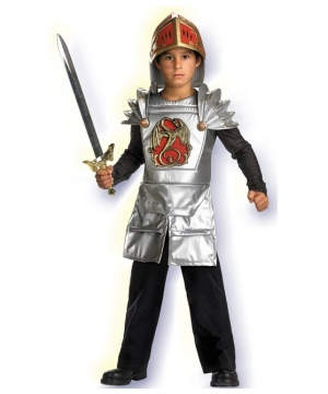 Knight of the Dragon Costume - Kids Costume
