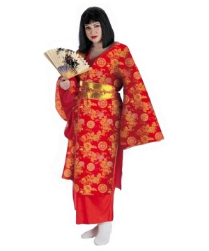 Geisha Adult plus size Costume