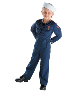 Sailor Kids Costume