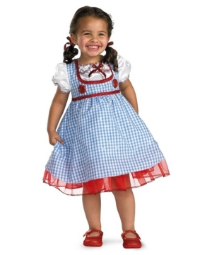 Ruby Slipper Darling Dorothy Toddler Girl Costume