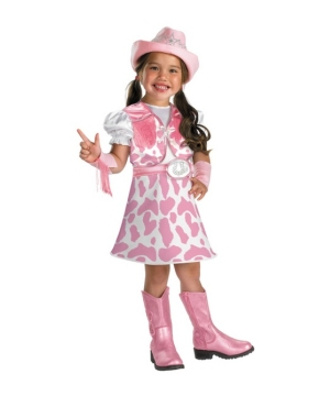 Wild West Cutie Kids Costume