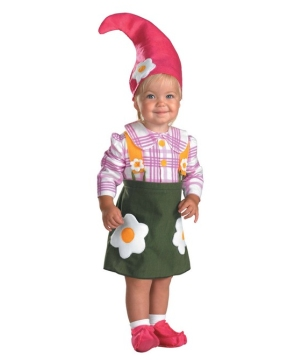Flower Garden Gnome Baby/toddler Costume
