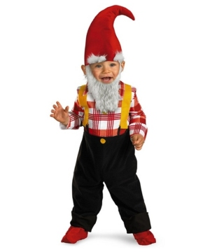 Garden Gnome Costume - Infant/toddler Costume