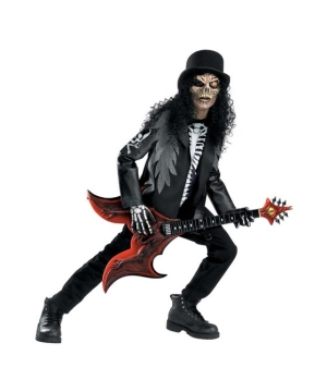 Cryptic Rocker Kids Costume