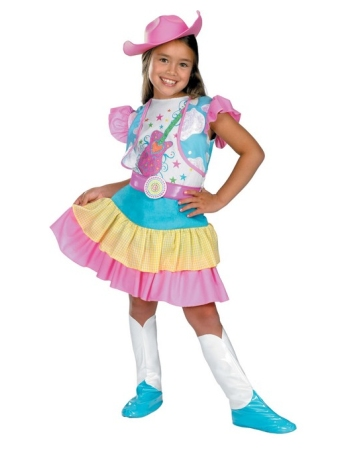 Rodeo Sweetheart Girl Costume
