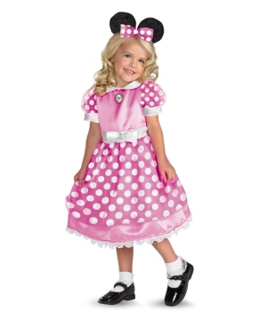 Minnie Mouse Disney Girls Costume