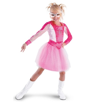 Pink Suited Spider Girl Costume - Toddler/Kids Costume