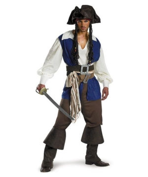 Captain Jack Sparrow Teen/men deluxe