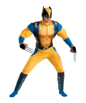 Wolverine Origins Muscle Teen/ Men Costume