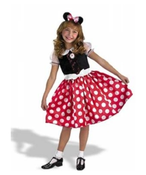 Minnie Mouse Kids Disney Costume