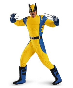Wolverine Movie Teen/ Men Costume deluxe