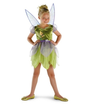Fairytale Tinkerbell Disney Girls Costume