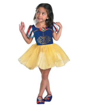 Snow White Ballerina Kids Disney Costume