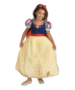 Snow White Disney Girls Costume deluxe