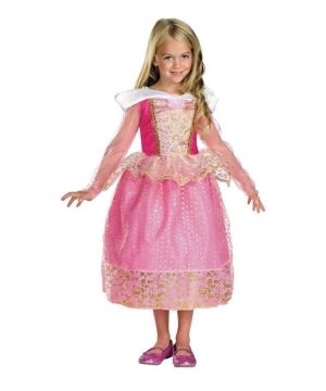 Aurora Princess Disney Girls Costume
