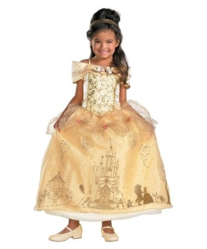 Belle Movie Girls Costume deluxe