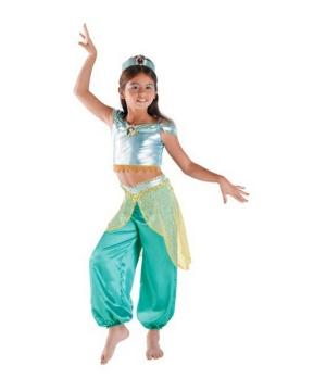 Jasmine Disney Girls Costume