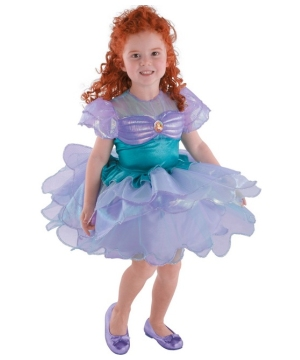 Ariel Ballerina Disney Toddler Girls Costume