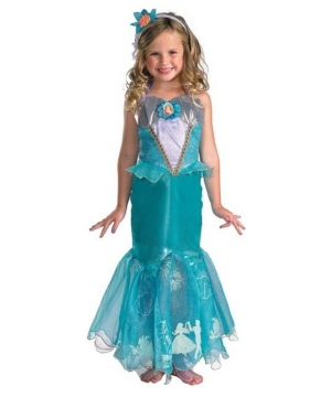 Ariel Disney Girl Costume deluxe