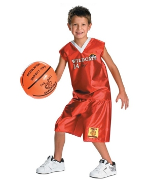 Troy Basketball Costume - Kids Costume
