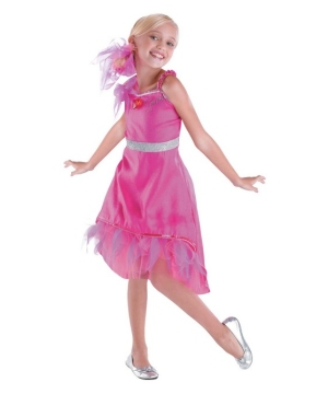High School Musical Sharpay Prom Girls Costume deluxe