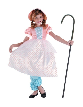 Toy Story Bo Peep Girls Costume Deluxe