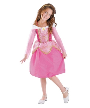 Aurora Disney Girl Costume deluxe