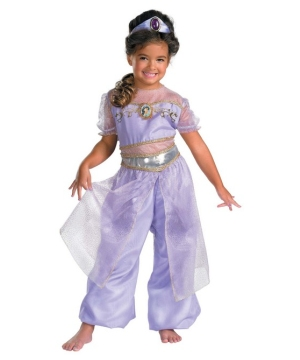 Jasmine Disney Girl Costume deluxe