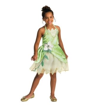 Princess Tiana Disney Girl Costume