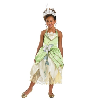 Princess Tiana Kids Costume deluxe