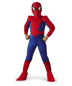 Spiderman Boy Costume deluxe