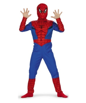 Spiderman Disney Boys Costume
