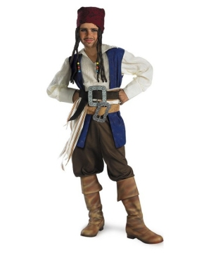 Captain Jack Sparrow Boys Teen Costume