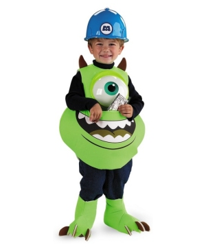 Monsters Inc. Mike Wazowski Boys Costume