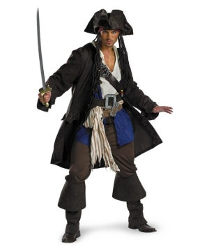 Captain Jack Sparrow Adult Costume Prestige