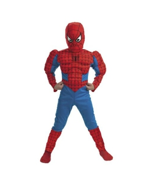 Spiderman Muscle Kids Costume deluxe