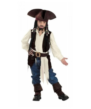 Captain Sparrow Costume - Piratetween Costume deluxe
