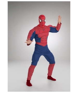 Spiderman Muscle Adult Costume deluxe