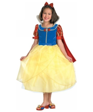 Snow White Disney Girl Costume deluxe