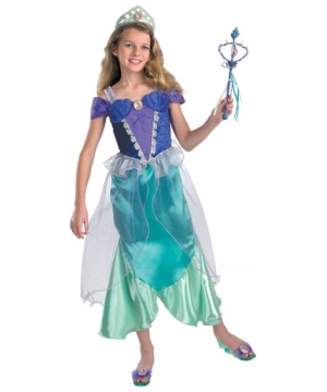 Ariel the Little Mermaid Disney Girl Costume Prestige