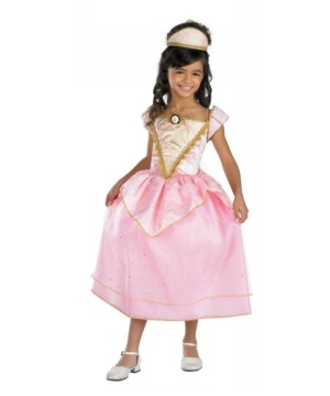 Barbie Royal Party Princess Kids Costume deluxe
