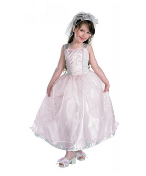 Barbie My Wedding Day Kids Costume deluxe