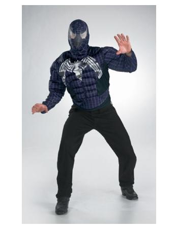 Adult Venom Muscle Movie Halloween Costume Teen Costume