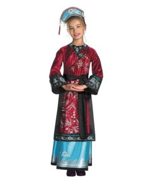 Elizabeth Empress Pirates of the Caribbean Girls Costume deluxe