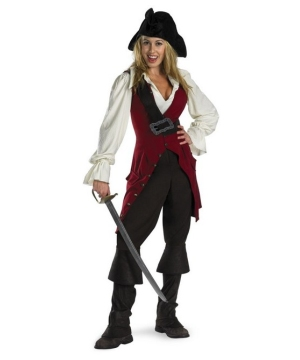 Elizabeth Pirate Teen/ Women Disney Costume deluxe