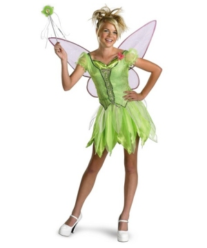 Tinkerbell Disney Girls Costume deluxe
