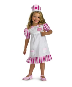 Nurse Barbie Costume - Kids/toddler Costume
