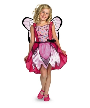 Mariposa Barbie Girls Costume