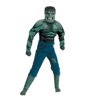 The Incredible Hulk Muscle Kids Costume